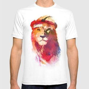 🦁 Men's Lion Shirt - M